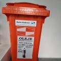 Odpady- nová sběrná nádoba na olej a tuky (potravinářské)